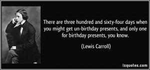 More Lewis Carroll Quotes