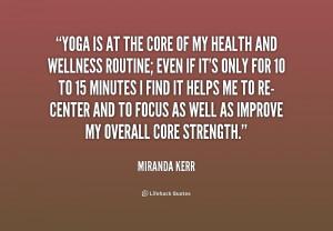 Core Yoga Quotes