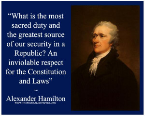 Alexander Hamilton Quotes On Religion And Government
