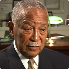 ... David Dinkins recalls the scene in Harlem, where he began his