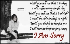 Am Sorry Poems for Boyfriend: Apology Poems for Him