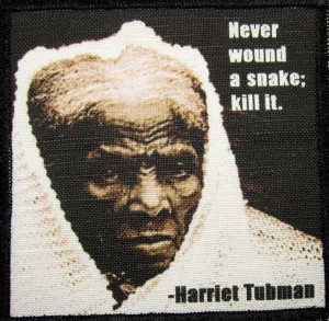 Details about HARRIET TUBMAN QUOTE - Printed Patch - Sew On - Vest ...