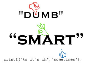 Fig. 1 Smart vs Dumb quotes