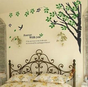 LOVE-QUOTES-Forever-Tree-Branch-Wall-Decals-Removable-Vinyl-Sticker ...