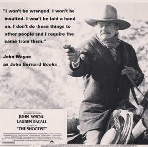 John Wayne! The ultimate cowboy!