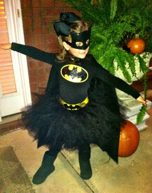 Batgirl costume: Halloween Costume, Tutu Costume, Girls Batman Costume ...