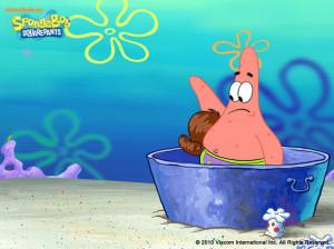 cute, funny, patrick, patrick star, sponge bob, spongebob