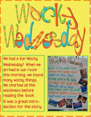 Dr. Seuss- Wacky Wednesday