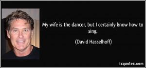 David Hasselhoff Quotes