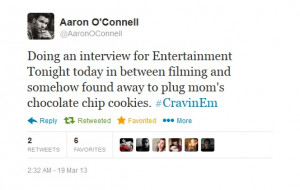 ... , and aviator Aaron O'Connell. Follow on Twitter: @AaronConnellFan