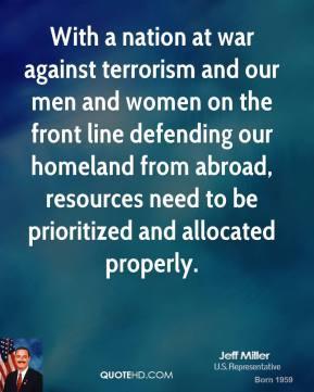 essays on war against terrorism