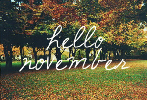 Please be better than October.