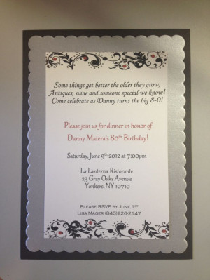 Results for 80th Surprise Birthday Invitation Wording.