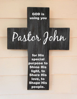 Personalized Pine Wood Cross with Quote Poem by Frameyourstory, 35.00