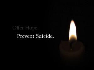 Prevent Suicide Quotes