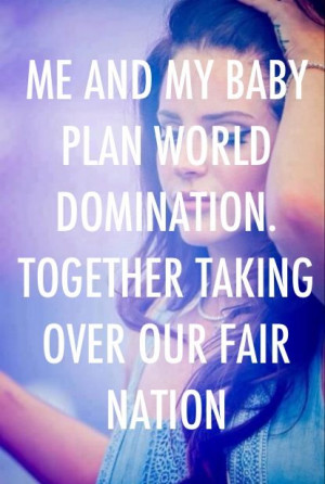 Lana Del Rey - Dangerous girl _ Me and my baby plan world domination ...