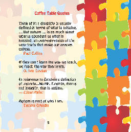 autism coffee table quotes 4200911 all proceeds benefit autism ...