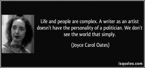 ... joyce carol oates where are you going where have you been quotes