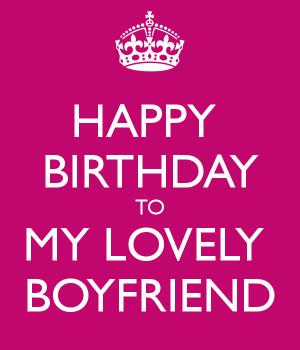 HAPPY BIRTHDAY TO MY LOVELY