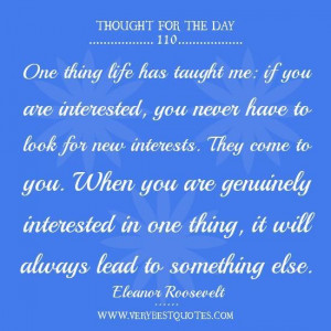 Life quotes thought of the day life has taught me quotes.