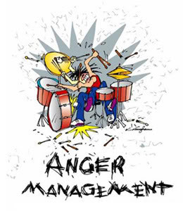 anger quotations drum cartoon picture