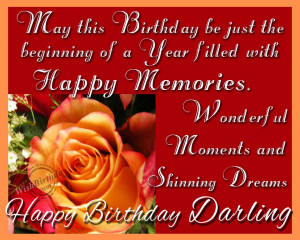Happy Birthday Quotes For Girlfriend 5 images above is part of the ...