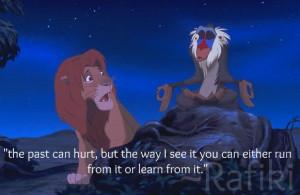 Lion King - Best Disney movie quotes