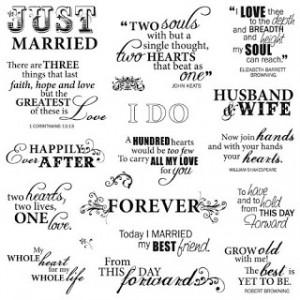 What would be a good love quote to put at the beginning or end of your ...