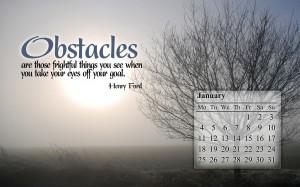 January 2010 Calendar Desktop Wallpaper 1