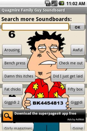 ... Guy Glen Quagmire is a character on the animated series, Family Guy
