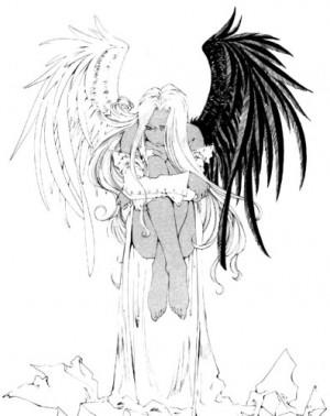 ゆっくりしていってね!!!: Half angel, half demon