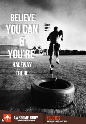 Sprinter Weight Training | Believe You Can | Motivation Fitness Quotes