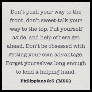 Philippians #Bible #Verse #Selfless #Love #Life #Help #Christ #God # ...
