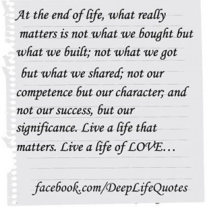 Thanks to Deep Life Quotes for the quote.:)