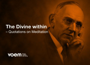 The Divine Within – Quotations on Meditation