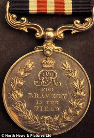 Hero An Example Of The Military Medal For Bravery That Was Awarded To