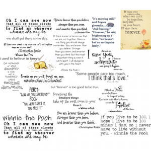 Winnie-the-Pooh quotes - Polyvore