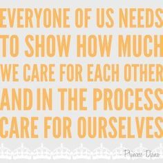 caring for others quotes - Google Search
