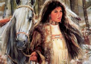 Native American 2 - Luis Royo - wallpapers