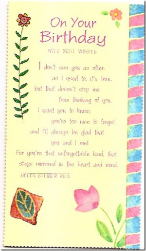 Small cute birthday quotes