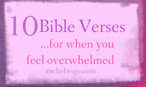 ... is overwhelmed; Lead me to the rock that is higher than I. Psalm 61:2
