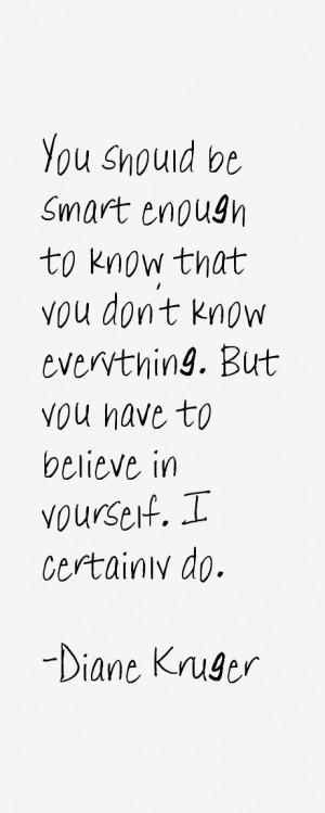 Diane Kruger Quotes amp Sayings