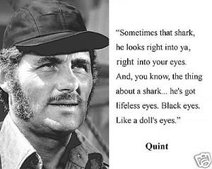 Jaws Captain Quint Quotes