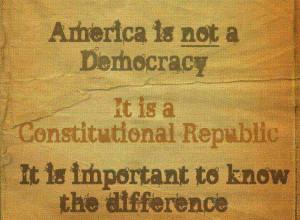 The Constitutional Republic!!