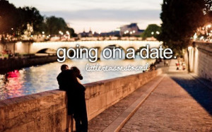 going on a date
