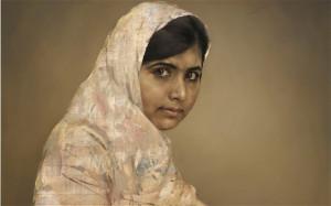 Malala Yousafzai: Jonathan Yeo Portraits, National Portrait Gallery ...