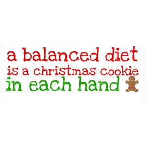 winter. christmas cookie quote. feel free to useee. vblainalu =)