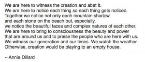 Quote by Annie Dillard