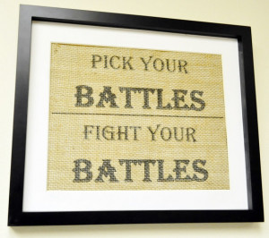 Choose your Battles Wisely - Hope City Church   Chart Pick Your Battles