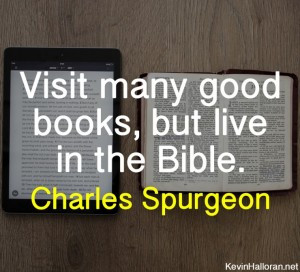 Charles Spurgeon Quotes about Reading Good Books Bible